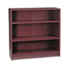 HON1892N 1890 Series Bookcase, 3 Shelves, 36w x 11-1/2d x 36-1/8h, Mahogany HON 1892N