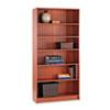 HON1896J 1890 Series Bookcase, 6 Shelves, 36w x 11-1/2d x 72-5/8h, Henna Cherry HON 1896J