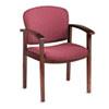 HON2111NBE62 2111 Invitation Series Wood Guest Chair, Mahogany/Wild Rose Fabric HON 2111NBE62