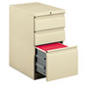 HON33723RL Efficiencies Mobile Pedestal File with One File/Two Box Drawers, 22-7/8d, Putty HON 33723RL