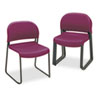 HON4031MBT GuestStacker Chair, Burgundy with Black Finish Legs, 4/Carton HON 4031MBT