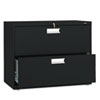 HON682LP 600 Series Two-Drawer Lateral File, 36w x19-1/4d, Black HON 682LP