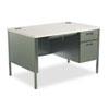 HONP3251RG2S Metro Classic Right Pedestal Desk, 48w x 30d x 29-1/2h, Gray Patterned/Charcoal HON P3251RG2S