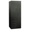 HONST24723LAS Flagship Personal Storage Tower, 24w x 24d x 64-1/4h, Charcoal HON ST24723LAS