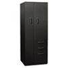 HONST24723RAP Flagship Personal Storage Tower, 24w x 24d x 64-1/4h, Black HON ST24723RAP