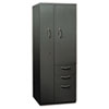 HONST24723RAS Flagship Personal Storage Tower, 24w x 24d x 64-1/4h, Charcoal HON ST24723RAS
