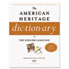 Houghton Mifflin American Heritage Dictionary of the English Language