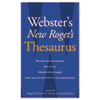HOU1020958 Webster's New Roget's Thesaurus Office Edition, Paperback, 544 Pages HOU 1020958