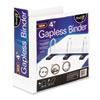 IDESNS01703 Gapless Loop Ring View Binder, 11 x 8-1/2, 4
