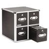 IDEVZ01049 Four-Drawer CD File Cabinet, Holds 660 Folders/240 Slim/120 Std. Cases IDE VZ01049
