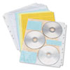 Innovera CD/DVD Three Ring Binder Pages