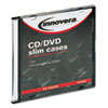 Innovera® CD/DVD Polystyrene Slim Storage Case | www.SelectOfficeProducts.com