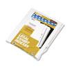KLF80018 80000 Series Legal Index Dividers, Side Tab, Printed