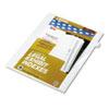 KLF81115 80000 Series Legal Index Dividers, Side Tab, Printed