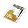 KLF81118 80000 Series Legal Index Dividers, Side Tab, Printed