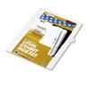 KLF81120 80000 Series Legal Index Dividers, Side Tab, Printed