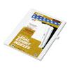 KLF81121 80000 Series Legal Index Dividers, Side Tab, Printed