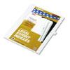 KLF81122 80000 Series Legal Index Dividers, Side Tab, Printed