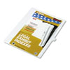 KLF81124 80000 Series Legal Index Dividers, Side Tab, Printed