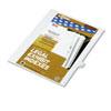 KLF82217 80000 Series Legal Exhibit Index Dividers, Side Tab, Printed