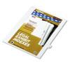 KLF82219 80000 Series Legal Index Dividers, Side Tab, Printed