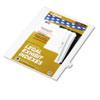 KLF82220 80000 Series Legal Index Dividers, Side Tab, Printed