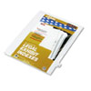 KLF82222 80000 Series Legal Index Dividers, Side Tab, Printed