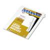 KLF82227 80000 Series Legal Index Dividers, Side Tab, Printed