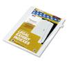 KLF82229 80000 Series Legal Index Dividers, Side Tab, Printed