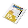 KLF82237 80000 Series Legal Index Dividers, Side Tab, Printed