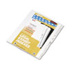 KLF82238 80000 Series Legal Index Dividers, Side Tab, Printed
