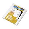 KLF82244 80000 Series Legal Index Dividers, Side Tab, Printed