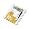 KLF83126 80000 Series Legal Index Divider Set, Side Tabs, Printed