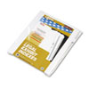 KLF91006 90000 Series Legal Exhibit Index Dividers, Side Tab, Printed