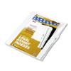 KLF91810 90000 Series Legal Exhibit Index Dividers, 1/26 Cut Tab, Title