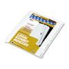 KLF91904 90000 Series Legal Exhibit Index Dividers, 1/25 Side Cut, Label