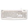 KMW64406 Pro Fit USB Washable Keyboard, 104 Keys, White KMW 64406