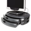 KTKMS200B LCD Monitor Stand with 2 Drawers, 18 x 12 1/2 x 5, Black KTK MS200B