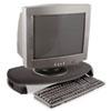 KTKMS280B CRT/LCD Stand with Keyboard Storage, 23 x 13 1/4 x 3, Black KTK MS280B