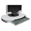 KTKMS280 CRT/LCD Stand with Keyboard Storage, 23 x 13 1/4 x 3, Gray KTK MS280