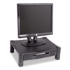 KTKMS420 Height-Adjustable Stand with Drawer, 17 x 13 1/4 x 3 to 6 1/2, Black KTK MS420