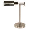 LEDL9022 Adjustable Full Spectrum Table Lamp, Brushed Steel, 16-1/2 Inches High LED L9022