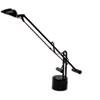 LEDL9075 Counter-Balanced Halogen Desk Lamp, Black, 18 Inches Reach LED L9075