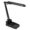 LEDL9103 Flexible Organizer Compact Fluorescent Lamp, 17 Inches, Matte Black LED L9103