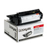 LEX12A5745 12A5745 High-Yield Toner, 25000 Page-Yield, Black LEX 12A5745