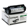 LEX12A5845 12A5845 High-Yield Toner, 25000 Page-Yield, Black LEX 12A5845