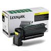 LEX15G042Y 15G042Y High-Yield Toner, 15000 Page-Yield, Yellow LEX 15G042Y