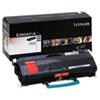 LEXE260A21A E260A21A Toner, 3500 Page-Yield, Black LEX E260A21A