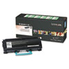 LEXE360H11A E360H11A High-Yield Toner, 9000 Page-Yield, Black LEX E360H11A