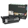 LEXX651H04A X651H04A High-Yield Toner, 25000 Page-Yield, Black LEX X651H04A